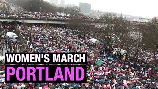 Women's March Portland draws tens of thousands