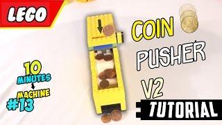 getlinkyoutube.com-LEGO Coin Pusher Machine V2 TUTORIAL- 10min Machine #13