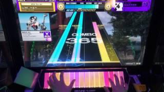 getlinkyoutube.com-【CHUNITHM】Bad Apple!! feat.nomico(MASTER)0-0-1 手元