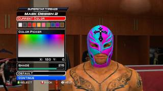 getlinkyoutube.com-SmackDown VS Raw 2011 Superstar Threads-ReyMysterio