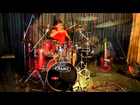 Relient K -Who i am hates who i've been-Drum cover