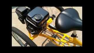 getlinkyoutube.com-Three Wheel Bike with 7 HP Engine Belize Tri-Rider