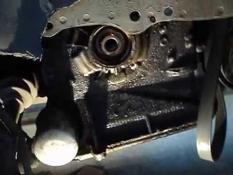 Ниссан примера р12 замена сальника коленвала (мотор QR-20)