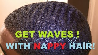 getlinkyoutube.com-How To Get 360 Waves with Nappy Hair