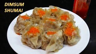 getlinkyoutube.com-Cara membuat Siomay Dim Sum isi Jamur Shiitake, Ayam dan Udang