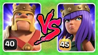 getlinkyoutube.com-YOU'LL NEVER GUESS WHO WINS!! - LEVEL 45 vs LEVEL 40 HERO FIGHT! - Clash Of Clans