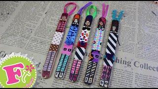 getlinkyoutube.com-Separador de muñequitas y papel trenzado (muy fácil) // Floritere