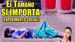 getlinkyoutube.com-El Tamaño SI Importa | Experimento Social - La Vida Del Desvelado
