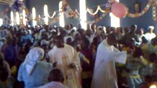 Thanks Giving Dans during 1st Mass of Fr Julious CMI at Kaba - Kenya.mp4