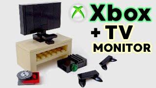 getlinkyoutube.com-Lego Xbox + TV Monitor - Tutorial