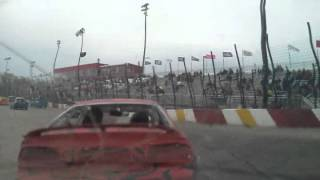 getlinkyoutube.com-BAD CRASH ROCKFORD SPEEDWAY 2012 #55 ONBOARD