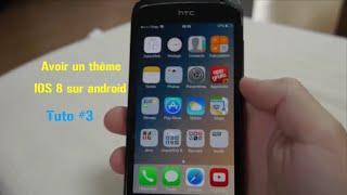 getlinkyoutube.com-Tuto #3 - Avoir un thème IOS 8 sur android