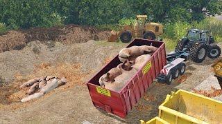 getlinkyoutube.com-Farming Simulator 15 Dead Pigs
