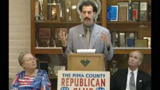 Borat - Republican Dinner Speech
