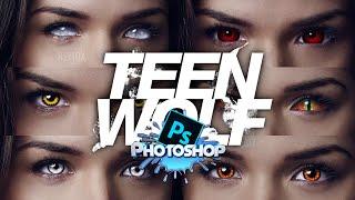 getlinkyoutube.com-Photoshop Tutorial - How to make Eyes like Teen Wolf [HD]