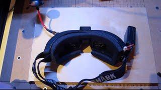 getlinkyoutube.com-FatShark Attitude v3 FPV Goggles With Faceplate - Breakdown