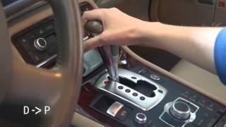 getlinkyoutube.com-Audi A8 D3 Automatic Transmission Change Gears Tiptronic | Zmiana biegów skrzynia automatyczna