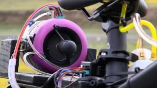 getlinkyoutube.com-Jet Powered Bicycle _ It's Insane!