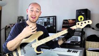 Ghost Notes (Pt1) - Bass Lesson with Scott Devine (L#40)