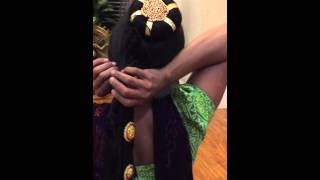 getlinkyoutube.com-bharatanatyam make up tips (hair) 1/16