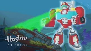 getlinkyoutube.com-Transformers: Rescue Bots - Heatwave's Rescan