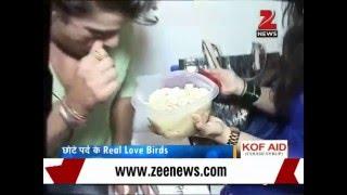 getlinkyoutube.com-TV actress Aditi cooks sweet dish for hubby Mohit on anniversary