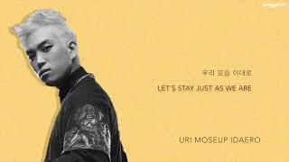 BUMKEY (범키) - 'When I Saw You' (Hwayugi / A Korean Odyssey OST, Part 2) [Han Rom Eng lyrics] width=