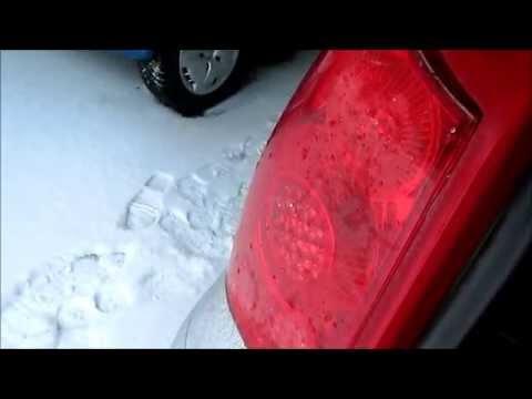 Замена задних ламп на Peugeot 307 SW