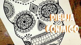 getlinkyoutube.com-Dibujo para Día de Muertos! Dani Hoyos Art