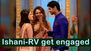 getlinkyoutube.com-RV and Ishani to get engaged | From the sets of Meri Ashiqui Tumse Hi