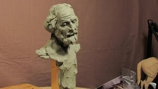 getlinkyoutube.com-Sculpture Depot and Chavant Clay - A Face Appears in Thin Air..kinda