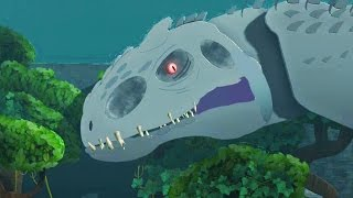 getlinkyoutube.com-LittleBigPlanet 3 - Jurassic World Park Tour - Super Giant Indominus Rex T Rex & Mosasaurus
