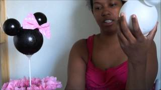 getlinkyoutube.com-centro de mesa de minnie mouse