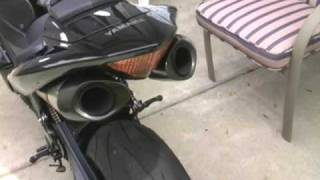 getlinkyoutube.com-2006 Yamaha R1 Akrapovic Evo II sound
