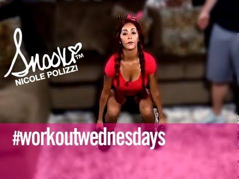 Lower Body Workout Wednesday w/ @Snooki @Cupps27