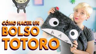 getlinkyoutube.com-Regreso a clases: Cómo hacer bolsos de tela de Totoro ♥ (mochila bandolera o messenger bag)