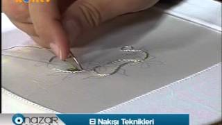 getlinkyoutube.com-Nazar Boncuğu -  El Nakışı Teknikleri 1