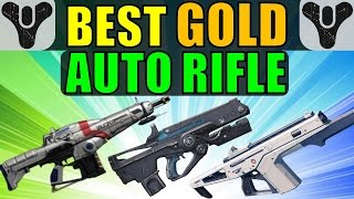 getlinkyoutube.com-Best Gold/Exotic Auto Rifle in Destiny!