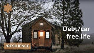 getlinkyoutube.com-Debt/car-free tiny house couple: simple living + resilience