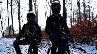 Snow ride 2018 with BAD CRASH! | CN Media