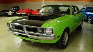 getlinkyoutube.com-1970 Dodge Dart 340 V8 Sublime Green - 11 Second Street/Strip Car