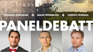 Västerbotten på Grand Hôtel 2016 - Panelsamtal om stad och land