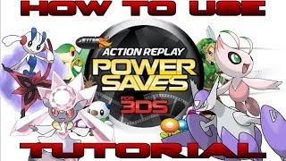 getlinkyoutube.com-How To Tutorial: Action Replay Power Saves For 3DS