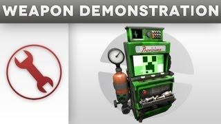 getlinkyoutube.com-Weapon Demonstration - The Creeper Dispenser