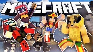 "getlinkyoutube.com-MINECRAFT SUPERGIRL SHOWDOWN! | Minecraft Cops N Robbers ""Roleplay"""