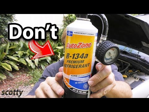 Never Use This on Your Car's AC System