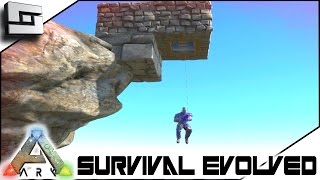 getlinkyoutube.com-ARK: Survival Evolved - GRAPPLING HOOK ELEVATOR! S3E47 ( Gameplay )