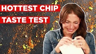 getlinkyoutube.com-People Try To Eat The World's Hottest Chip