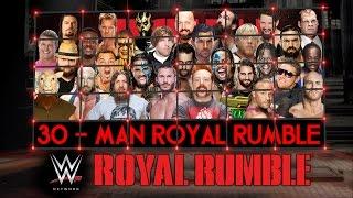 getlinkyoutube.com-WWE Royal Rumble 2015 Match HD