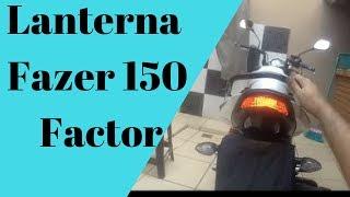 getlinkyoutube.com-Pintando Lanterna Fazer ou Factor 150 desmontando e montando rabeta